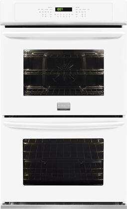 "Frigidaire FGET3065PW Gallery 30"" Built-In Double Electric Convection Wall Oven White"