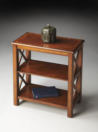 4105101 Masterpiece Collection Bookcase in Olive Ash Burl