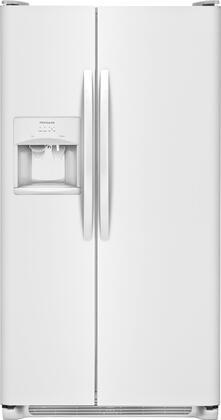 Frigidaire FFSS2615TP 36 Inch Freestanding Side by Side Refrigerator