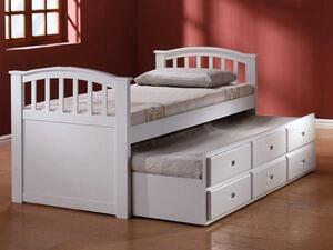 09143 San Marino Full Captain Bed & Trundle w/3 Drawers