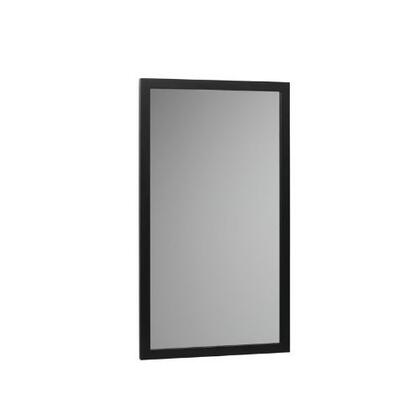 600118-B02 32 inch  Wood Framed Mirror: