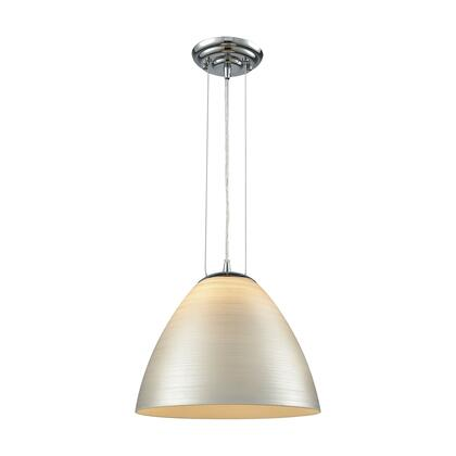 565311_Merida_1_Light_Pendant_in_Polished_Chrome_with_Silver_Linen