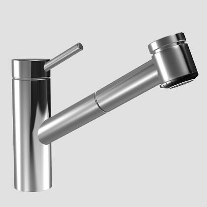 10.271.033.736 Single-hole  Single Lever Kitchen Mixer With Swivelspout And Pull-out Spray In Solid Stainless Steel/matte
