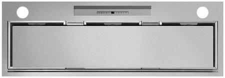 Fisher Paykel HP36ILTX1 36 Perimeter Range Hood Insert with 600 CFM Internal Blower 2 Dishwasher Safe Mesh Filters Perimeter Extraction Timer and 2 Halogen Lights: Brushed Stainless
