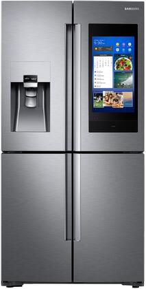 Samsung RF28N9780SR 28 Cu. Ft. Stainless Steel 4-Door Flex French Door Refrigerator With Family Hub