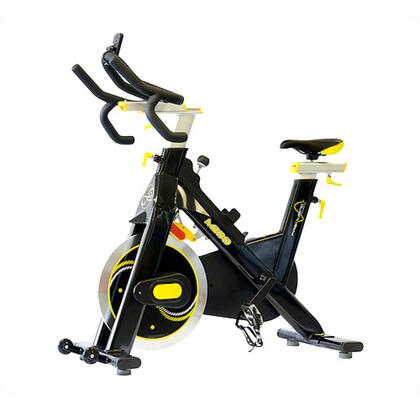 FF-300-M100 Full Commercial Magnetic Indoor Cycle with Magnetic Resistance  Ultra Strong Ball Bearings  Flywheel Axles  Optional SPD Pedals and Easy Assembly