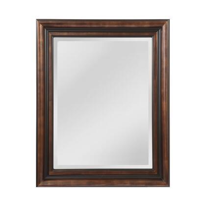 MW4105B-0037 Gastonia Mirror in Walnut  Black