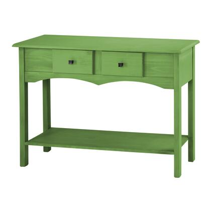 "Jay 2.0 Collection CS51004 49"" Sideboard Entryway with 2 Full Extension Drawers and Lifted Base in Green"