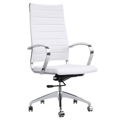 FMI10078-white Sopada Conference Office Chair High Back
