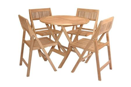 Windsor Collection SET-24 5-Piece Bistro Table Set with 31