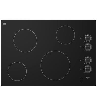 Click here for W5CE3024XB 30 Smoothtop Electric Cooktop With 4 Ra... prices