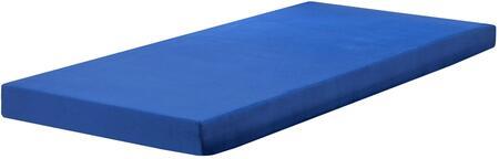 DSKIDBDB Child'S Memory Foam Mattress In Blueberry Full