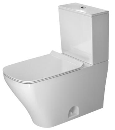Durastyle 216001 2-Piece Toilet Set with Bowl  Tank 12 Rough-In and Dual Flush in