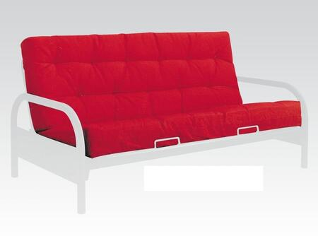 02812 Alfonso 8 inch  Full Size Futon Mattress Without Innerspring  Tufted Detailing and Poplin Fabric in