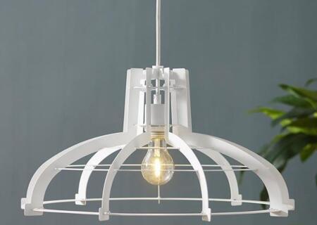 LIP20CLASWH Industrial Classic Slice Hanging Pendant Light Lamp in