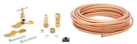 5304435784 20' Copper Waterline Kit  SP Saddle  Comp. Union  Union