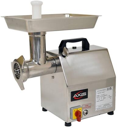 AXMG12 Meat Grinder with Blade Speed of 170 RPM  Forward and Reverse Switch  Compact Size  in Stainless