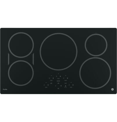 "PHP9036DJBB 36"" Built-in Induction Cooktop with 5 Elements Digital Touch Controls Keep-Warm Setting and Kitchen Timer in"