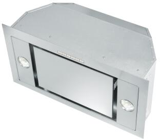 XOI22SMUA 22 inch  Hood Insert with 395 CFM  3 Speed Electronic Push Button  Halogen Lighting  in Stainless
