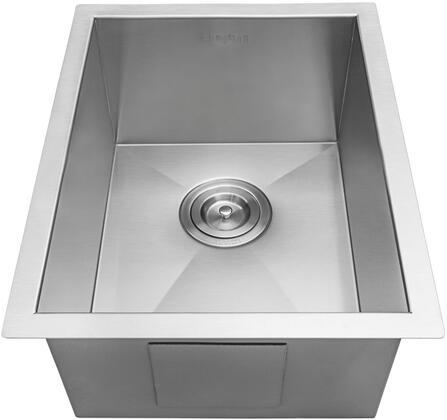 RVH7110 Undermount 16 Gauge 14 inch  Bar Sink Single