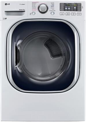 LG DLEX4370W Electric Dryer 27 7.4 Cu. Ft. in White