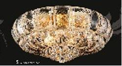 Corona Collection SP81079F-24G 24 inch  Wide Chandelier in Gold