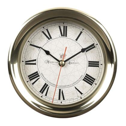 SC040 Captain's Clock  Large with Brass Material  in