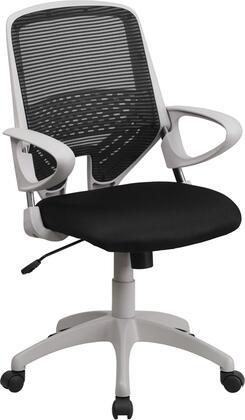 Flash Furniture H-0549FX-BK-GG 37.25