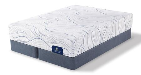 Cedarhurst 500080978-CKMFSPLIT Set with Plush California King Mattress + 2x Split
