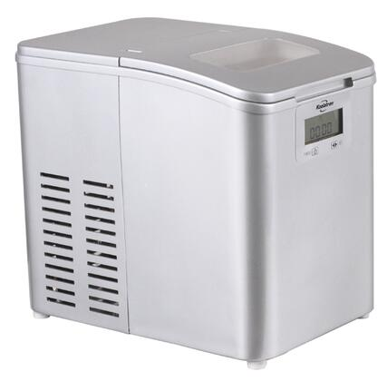 IM26MLL Stainless Steel Ice Maker with CFC-free Compressor  Programmable Timer  Removable Ice Bucket and