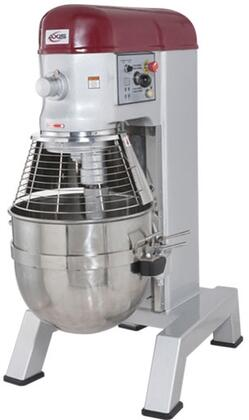Axm80 80 Quart Mixer With Capacity Of 80 Quarts  4 Speeds  Digital Timer  In Stainless