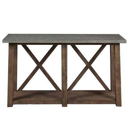 DSD153212 Farmhouse Style Distressed Sofa Table In