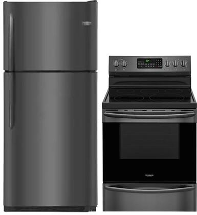 2 Piece Kitchen Appliance Package with FGTR2037TD 30