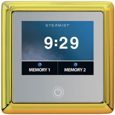 450T-PG Traditional Total Sense Steambath Residential Control  in Polished