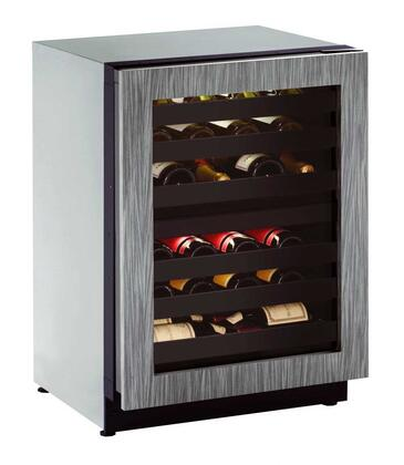 U-Line U2224ZWCINT00B 24 Built-in Wine Storage, Integrated