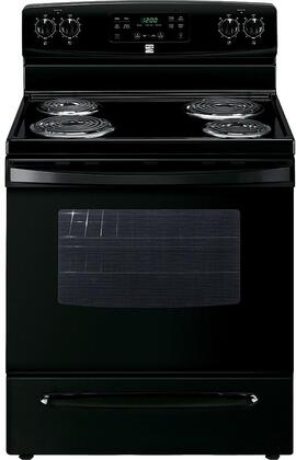 94149 30 Electric Range with 4 Coil Elements  5.3 cu. ft. Oven Capacity  Storage Drawer and Self-Cleaning Oven in