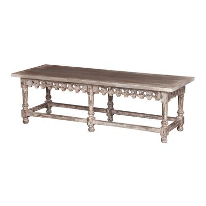 714039 Coffee Table/Bench With Ornamental Apron