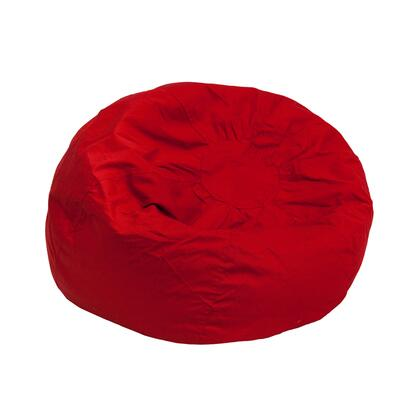 DG-BEAN-SMALL-SOLID-RED-GG Small Solid Red Kids Bean Bag