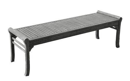 V1607 Renaissance Eco-Friendly 5-Foot Backless Outdoor Garden Bench  Hand-Scraped