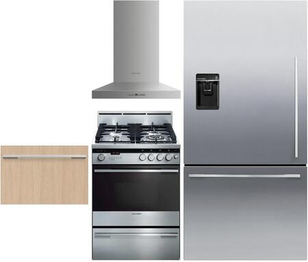 4 Piece Kitchen Appliance Package with RF170WDLUX5 32
