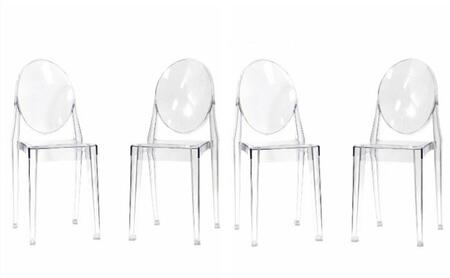 AL10007 Crystal Chair With Transparent