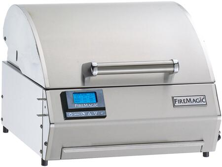E250T-1Z1E Electric Table Top Grill  252 sq. in. Cooking Area  with a Precision Thermostatic Control System: Stainless