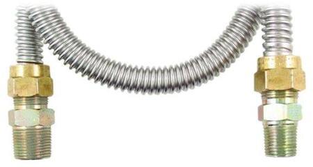 60 inch  Gas Range & Gas Furnace Flex-line