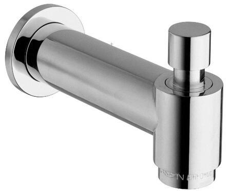 12144RL-SF-92 Cast Brass Designer 7 Slip Fit Tub Spout With Diverter  Designer Rose Gold