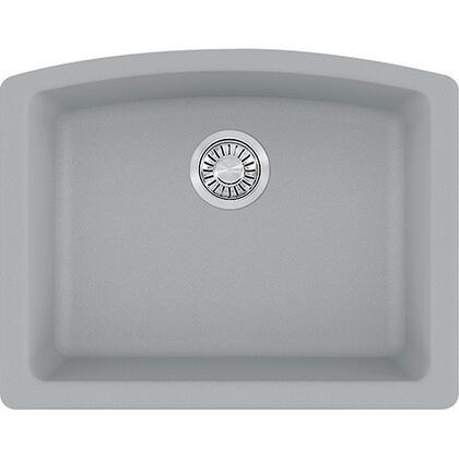 Ellipse Series ELG11022SHG 21 inch  Undermount Single Bowl Granite Sink in Shadow