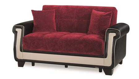 Proline Collection PROLINE LOVE SEAT RED 21-555 66
