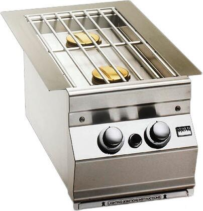 3281L Built-In Double Side Burner with Hot Surface Ignition for Aurora Grills  Natural