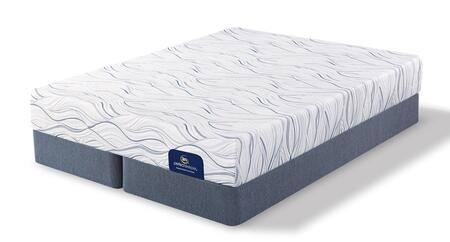 Meredith Way 500080688-CKMFSPLIT Set with Luxury Firm California King Mattress + 2x Split