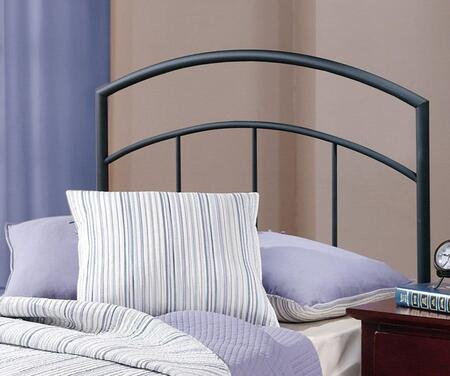 Julien Collection 1169HTWR Twin Size Headboard with Rails  Open-Frame Panel Design and Sturdy Metal Construction in Textured