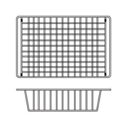 WT-3500 11-1/8-Inch by 17-7/8-Inch by 3-3/8-Inch Wirecraft Bottom